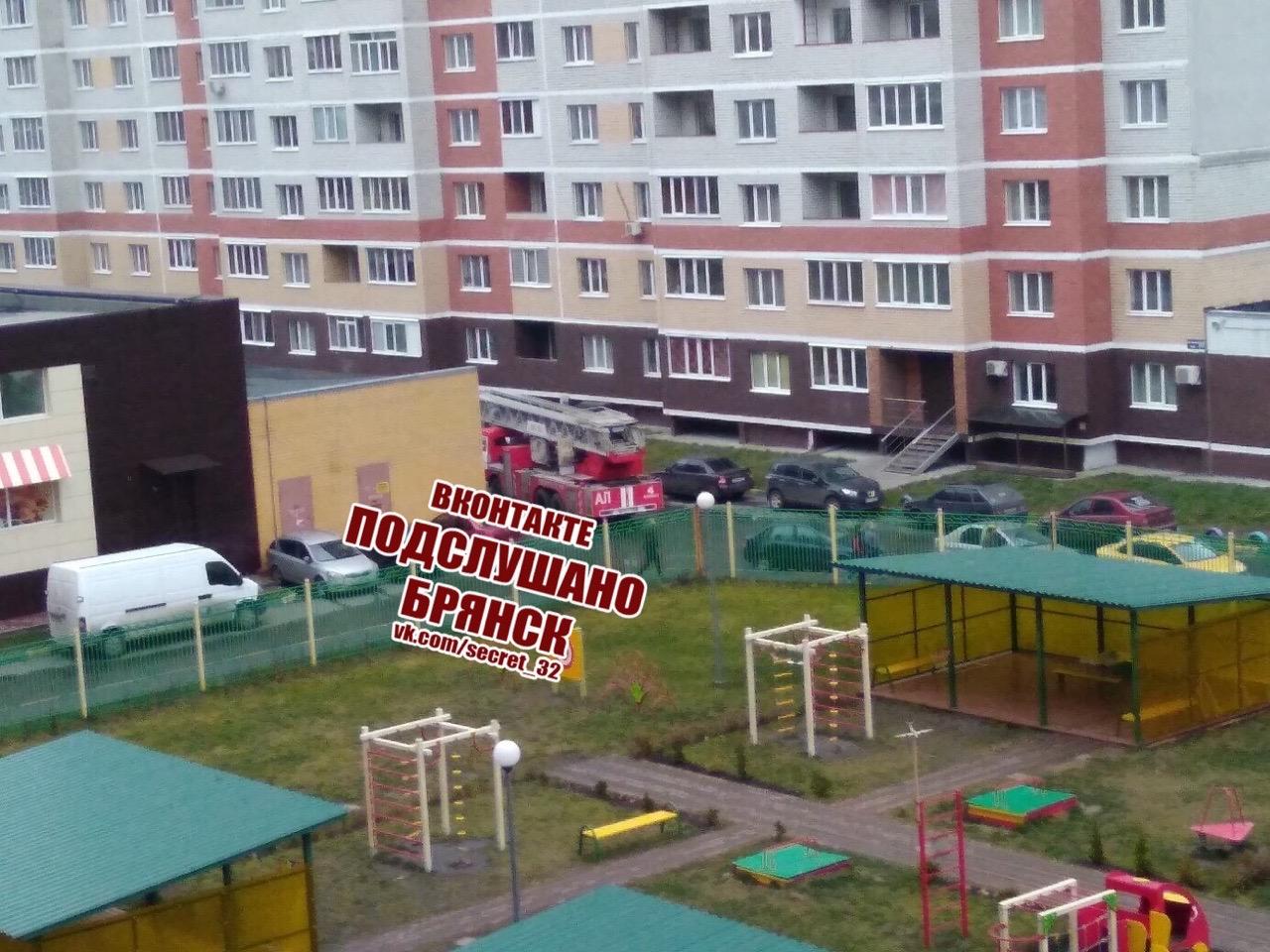 В Брянске женщина пыталась спрыгнуть из окна 13-го этажа