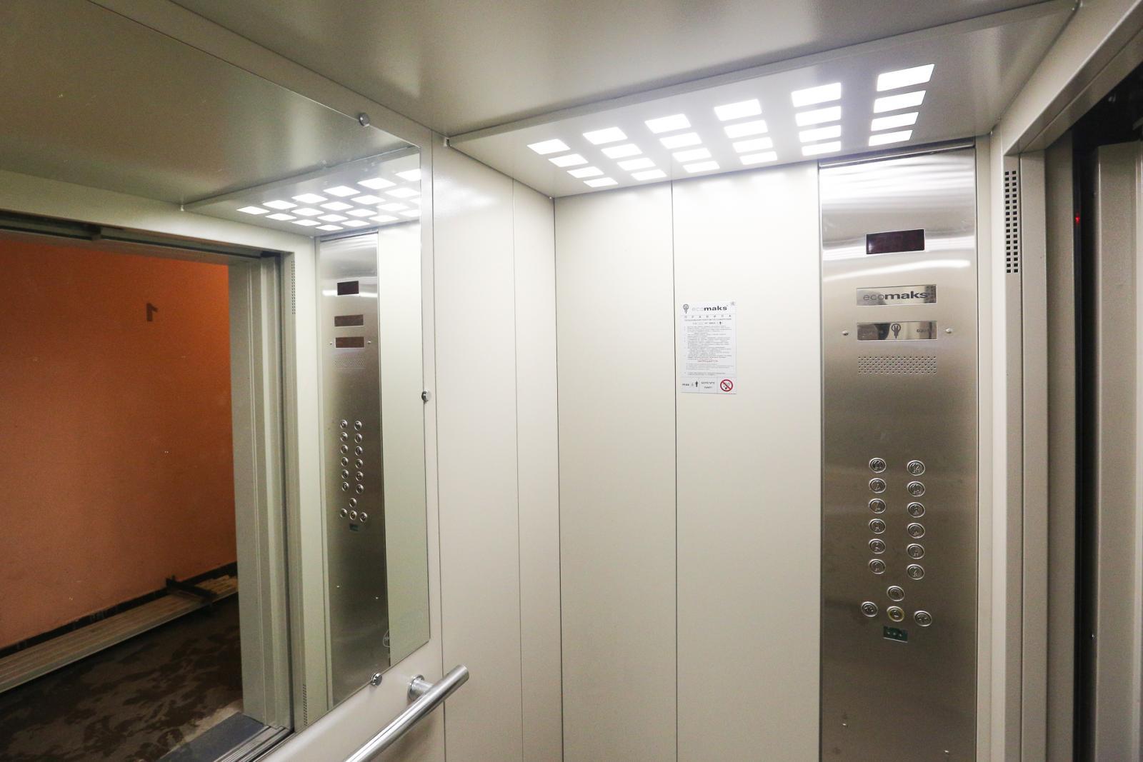 В Брянской области заменили 101 лифт в многоэтажках