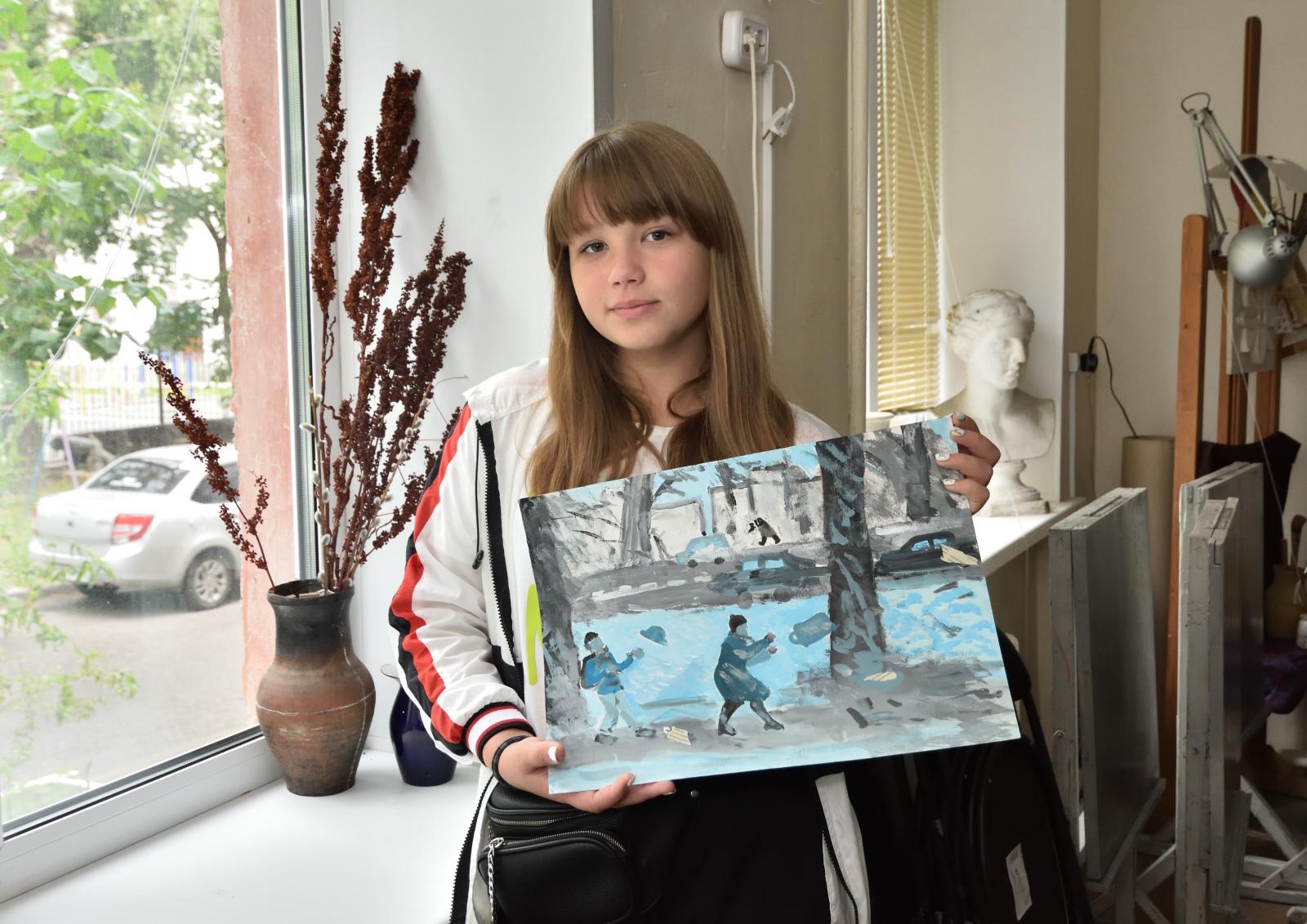 Картины трех юных художниц из Брянска выставят в Третьяковской галерее