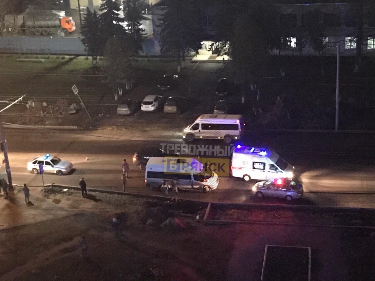В Брянске снова сбили человека на Литейной