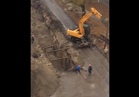Брянцы  пожаловались на шумные раскопки на улице Медведева