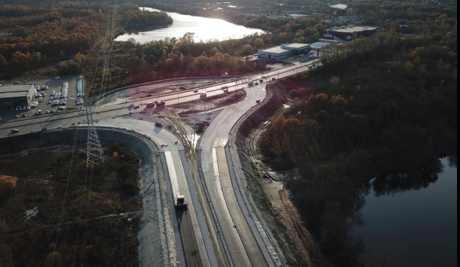 Председатель Правительства Марат Хуснуллин оценил темпы строительства дорог на Брянщине