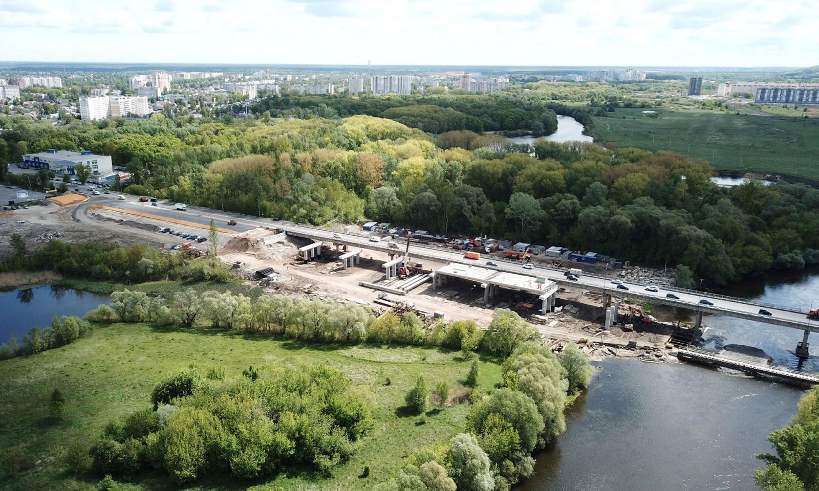 Новую дорогу-дублер в Брянске могут построить раньше срока