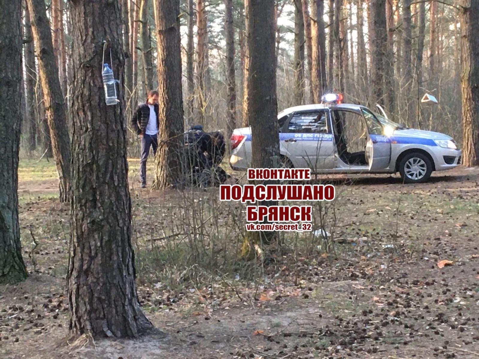 В Брянске пьяный водитель устроил гонки с ДПС