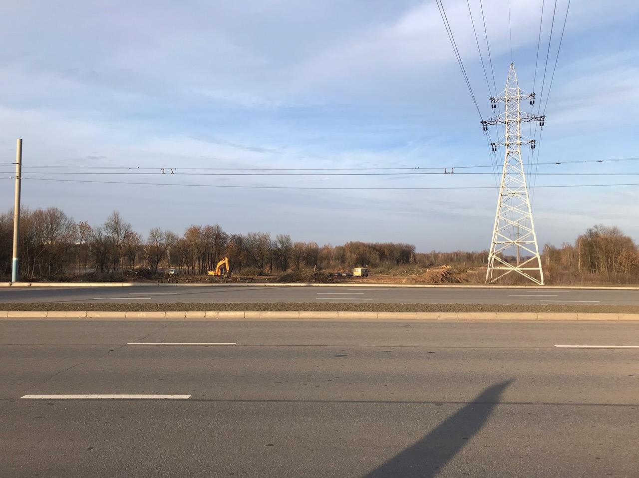 В Брянске около озера Мутного началось строительство дороги до Володарки