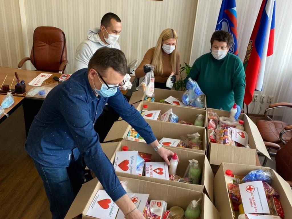 В Брянске появился штаб для помощи людям на самоизоляции