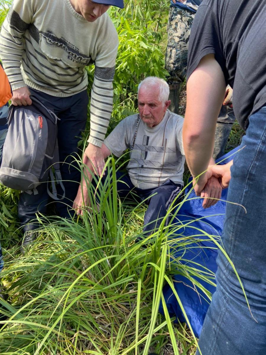 В Брянской области нашли пропавшего 81-летнего пенсионера