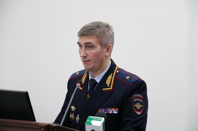 Начальник брянской полиции Толкунов отмечает День рождения