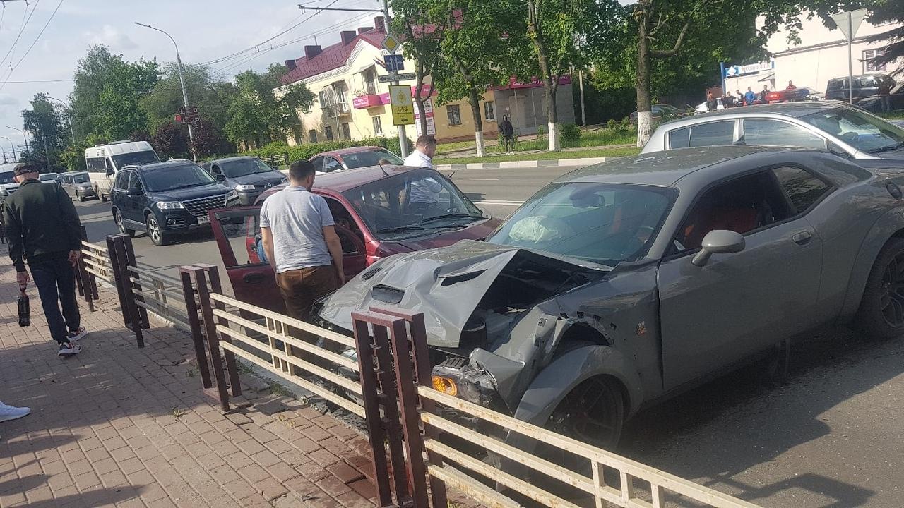 Появилось видео с места жуткой аварии возле Кургана в Брянске