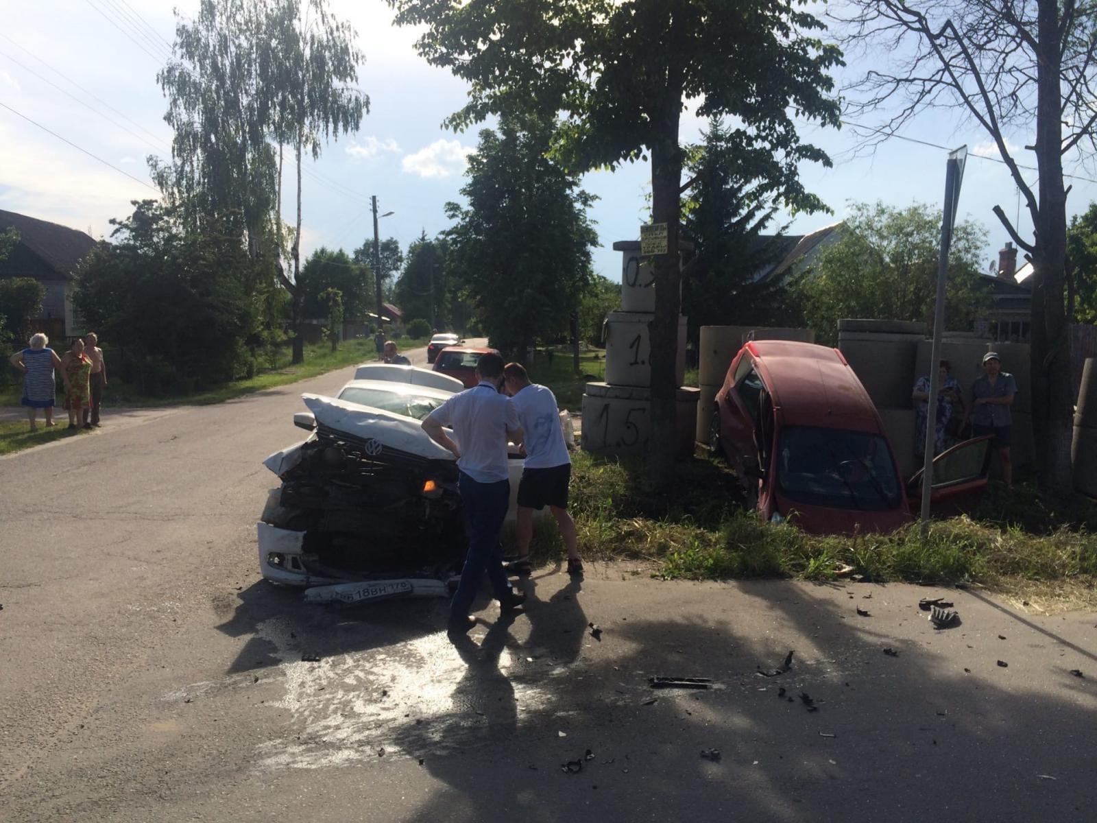 В Бежицком районе Брянска произошло страшное ДТП