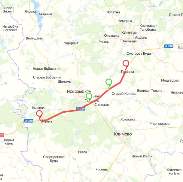 В Брянской области на федеральных трассах вводятся ограничения