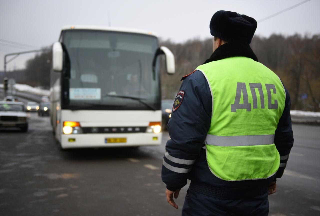 На проспекте Московском в Брянске проверяют водителей автобусов