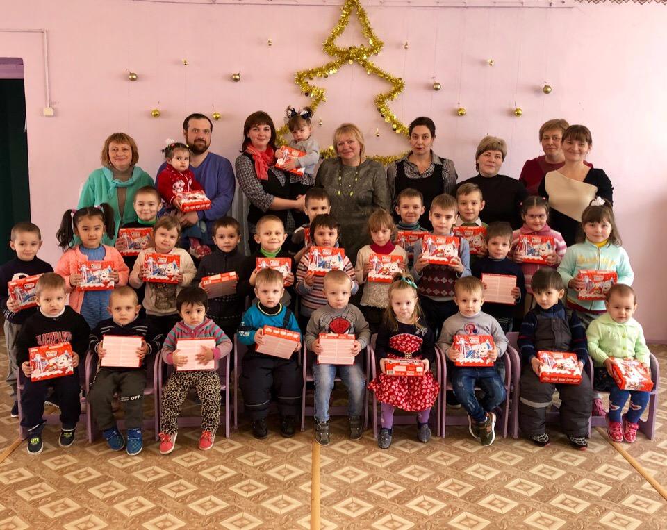 «Мираторг» поздравил с Крещением школьников и дошколят Выгоничского района Брянской области