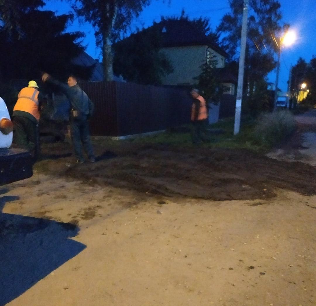 В Брянске на улице Тургенева восстановили водоснабжение