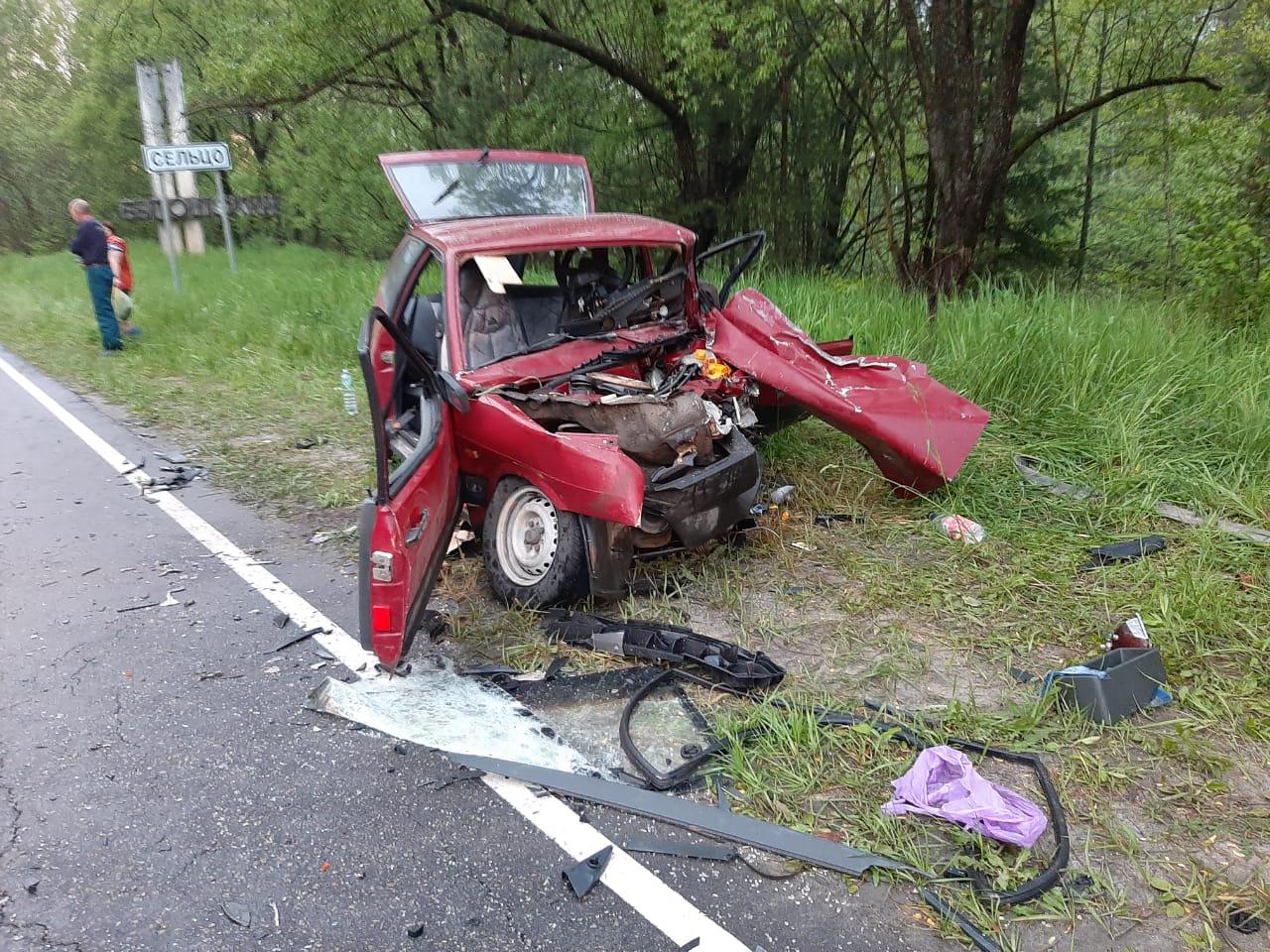 В страшном ДТП под Брянском погибли оба водителя