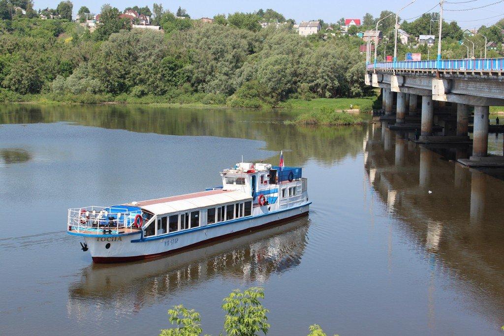 В Брянске теплоход «Тосна» продают за 1,5 млн рублей
