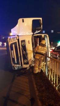В Брянске в ДТП с фурой никто не пострадал