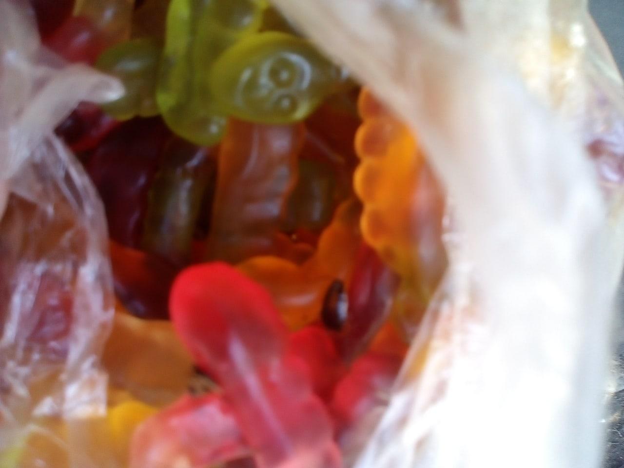 Жительница Брянска купила детям мармелад с тараканами