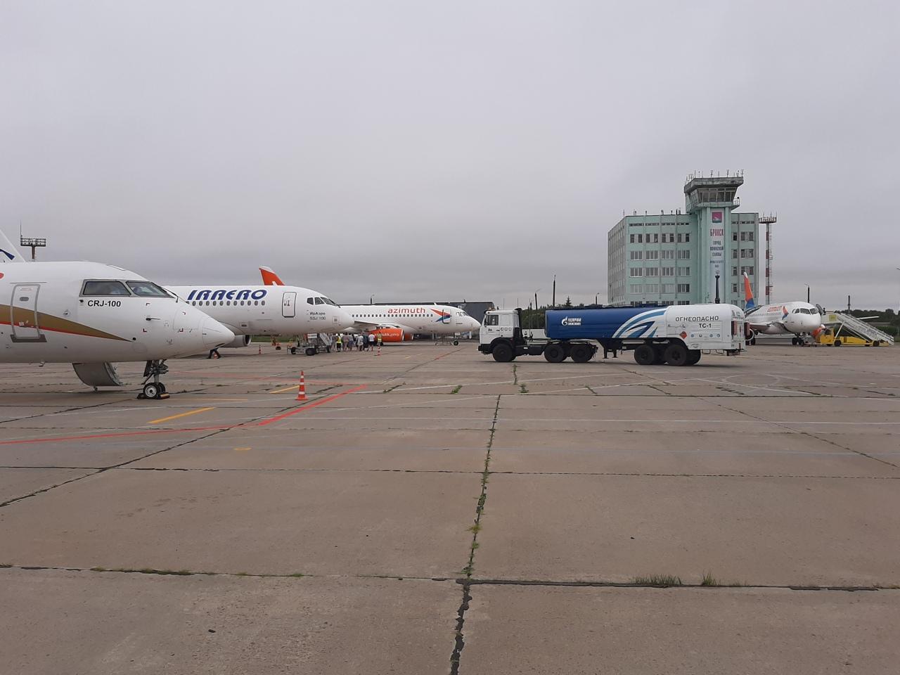 Брянский аэропорт отменил все рейсы из-за тумана