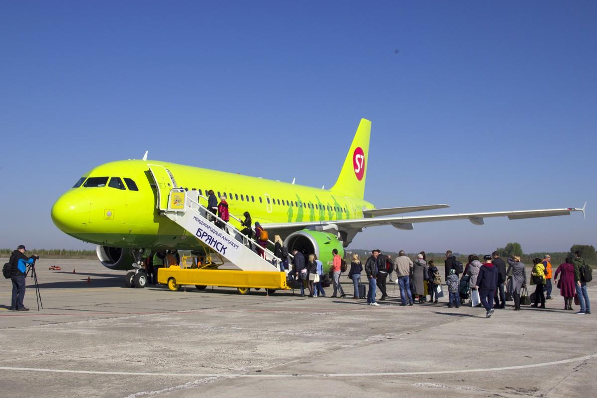 Авиакомпания S7 с 5 февраля начнет выполнять рейсы из Брянска в Москву