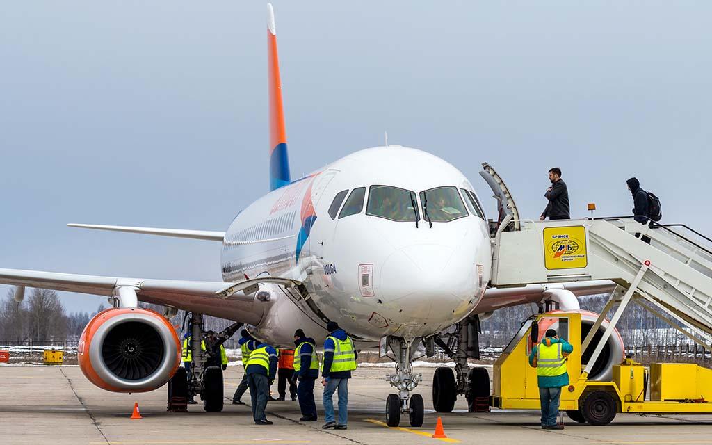 Международный аэропорт «Брянск» опубликовал расписание полётов на весну и лето 2021 года