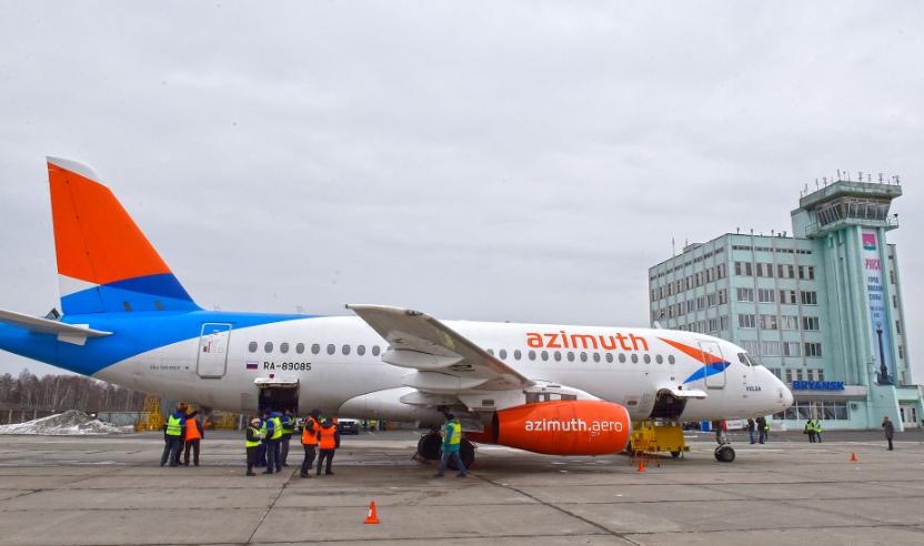 Открыта продажа авиабилетов из Брянска в Краснодар и Сочи