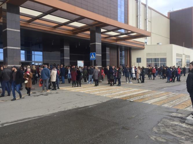 В Брянске из-за угрозы взрыва эвакуировали «Аэропарк»