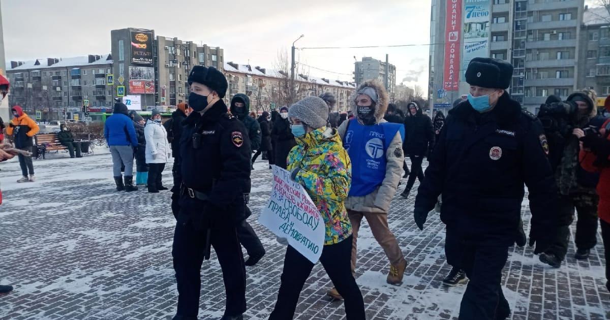 Оштрафовали на сумму до 30 тысяч рублей участников незаконных акций в Брянске