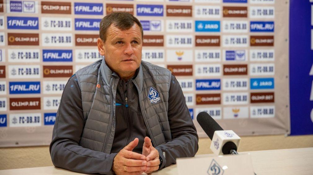ФК «Динамо-Брянск» расторг контракт с главным тренером