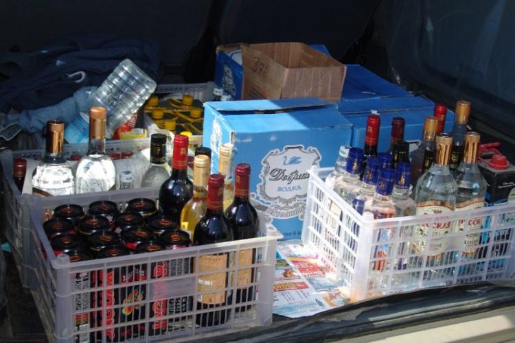 Житель Погара попался на сбыте контрафактных алкоголя и табака