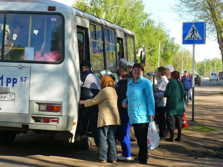 В Брянске с апреля начал курсировать автобус №110