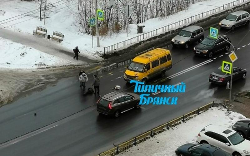 В Брянске водитель маршрутки сбил женщину