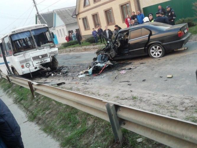 Жуткое ДТП в Почепе, есть погибший