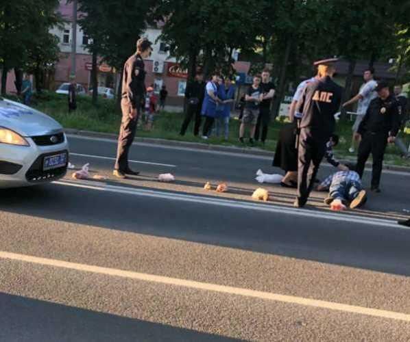 В Брянске агрессивный «малолетка» сбил мужчину на переходе