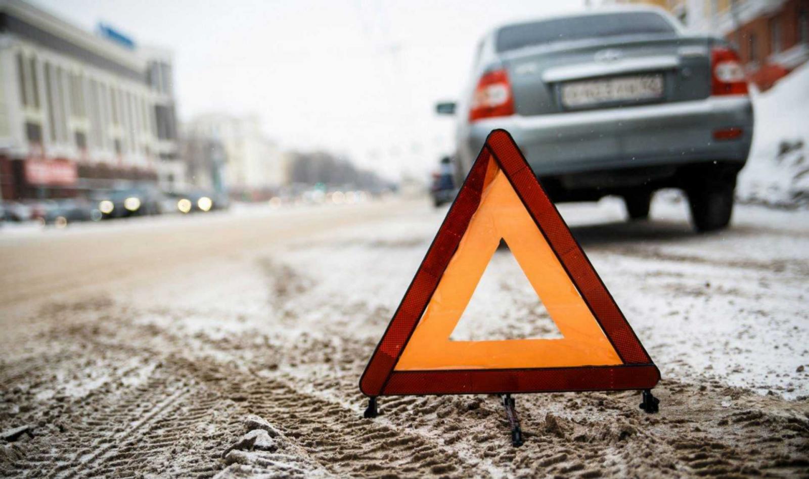 В Брянске на улице Калинина произошло ДТП