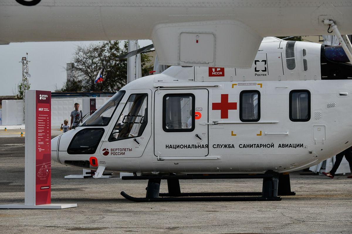 Четвертого пациента доставили из Новозыбкова в Брянск с помощью службы санитарной авиации