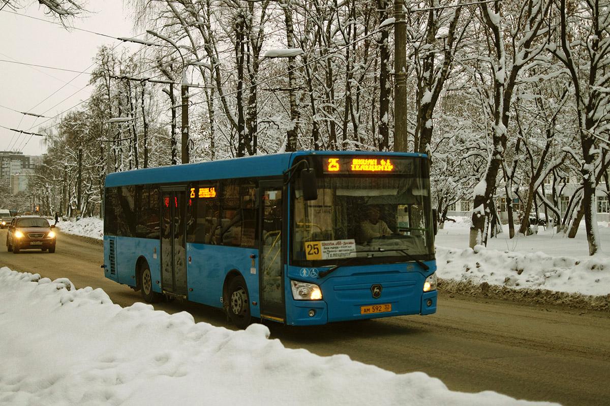В новогодние праздники автобусы в Брянске перейдут на расписание выходного дня