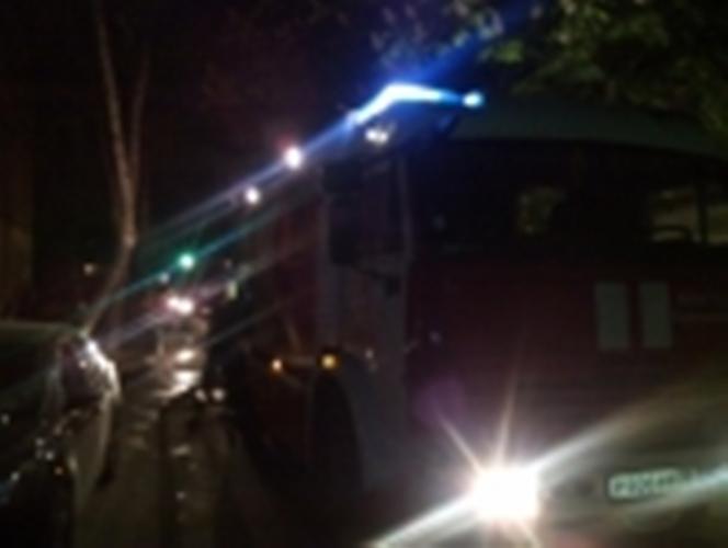 В Унечском районе сгорел автомобиль