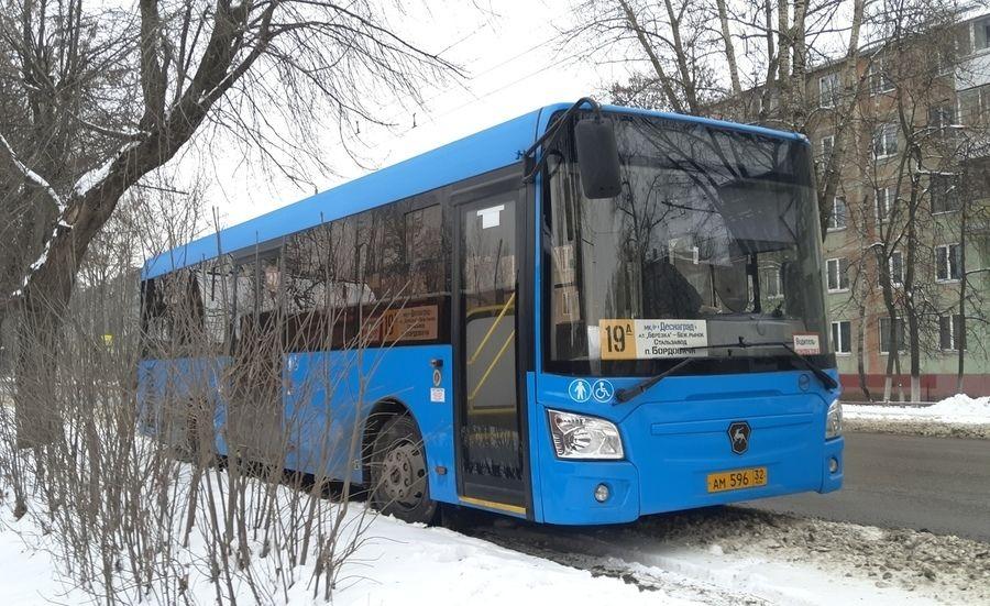На новогодних праздниках в Брянске автобусы будут ходить по измененному расписанию