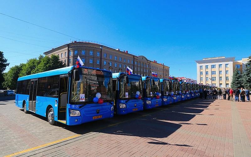 Брянский городской автопарк обновлен на 100 процентов