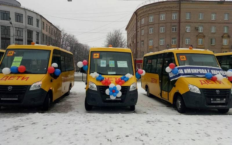 Брянские школы получили новые автобусы
