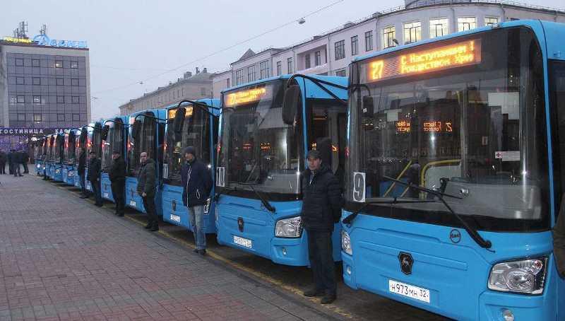 На брянских улицах появятся 53 новых автобуса