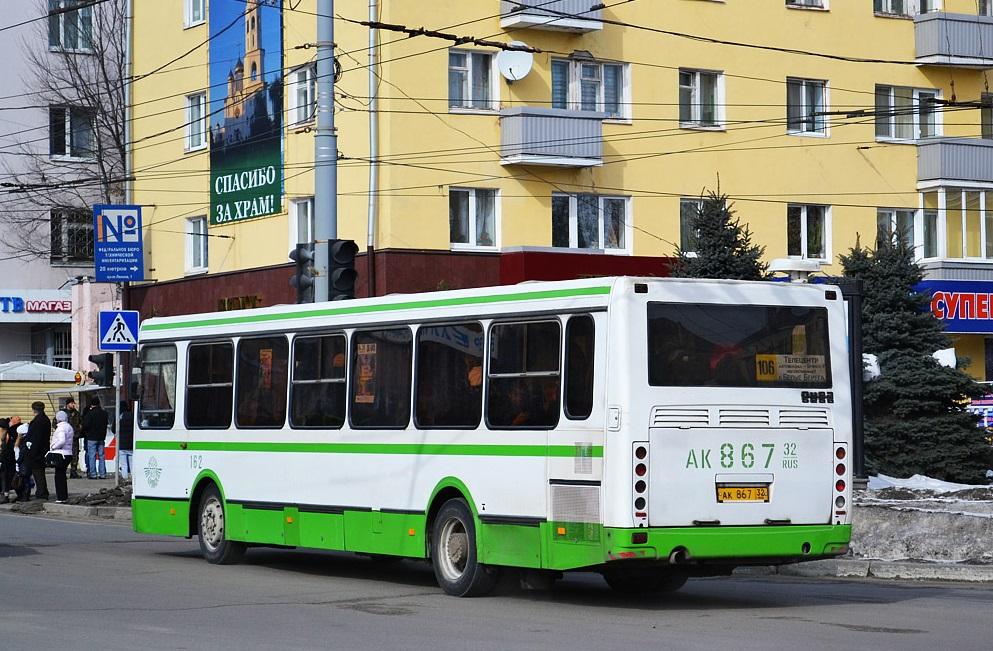 С 18 марта изменится расписание брянского автобуса №22