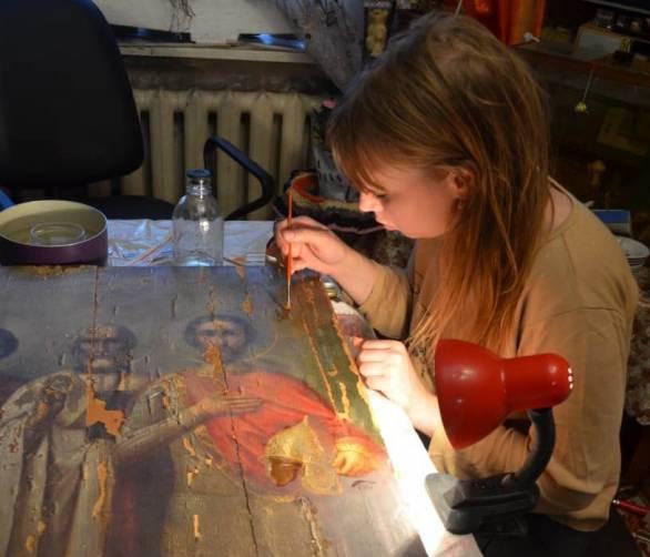 В Брянской области отреставрируют старинную икону