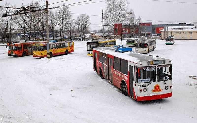 Расписание троллейбусов №2 и №12 в Брянске изменится с 21 декабря