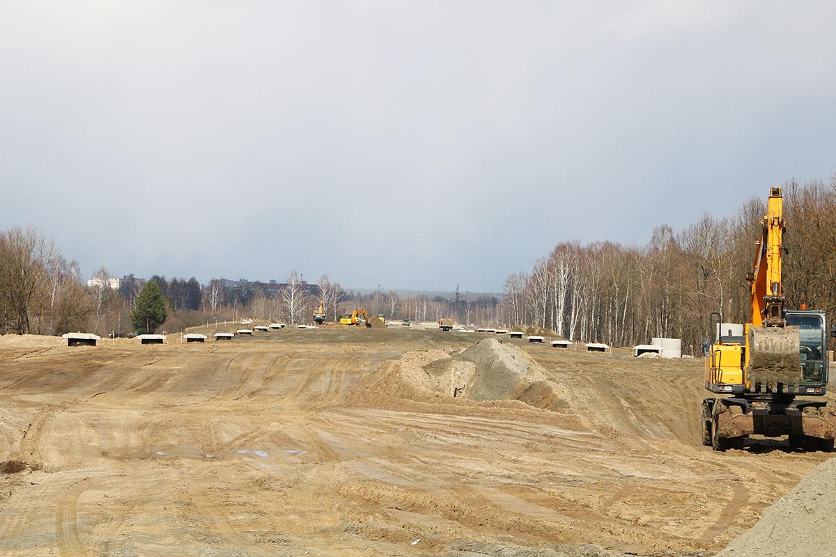 Из-за паводка возникли трудности при строительстве дороги от Metro к вокзалу Брянск-I