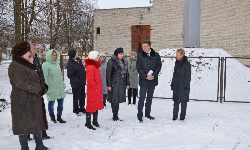 В Гордеевском районе ввели в эксплуатацию новую водонапорную башню