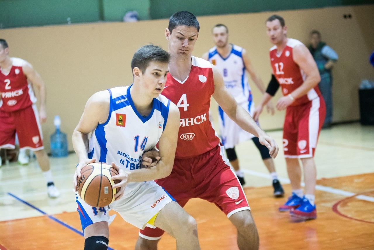 Брянские баскетболисты в первенстве ЦФО одержали две победы