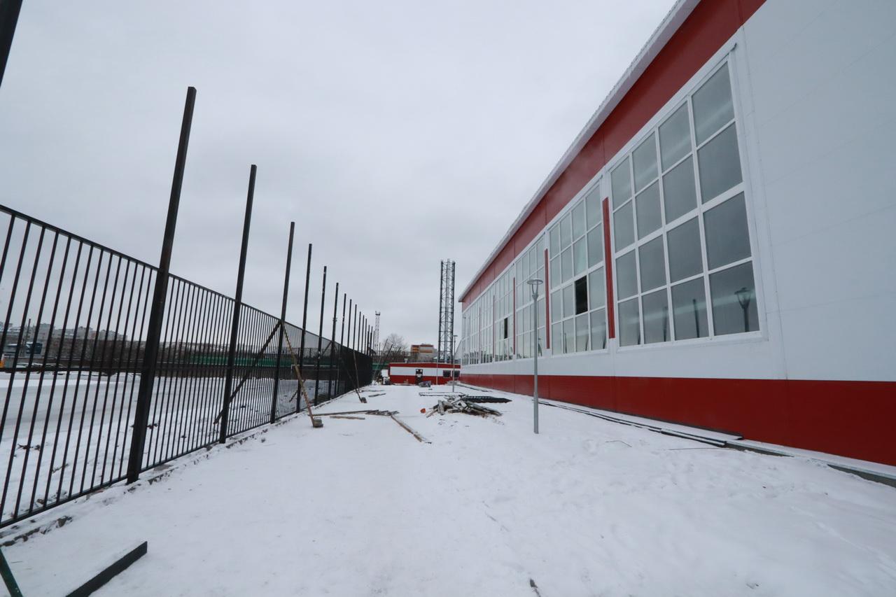 В Фокинском районе Брянска идет строительство нового бассейна