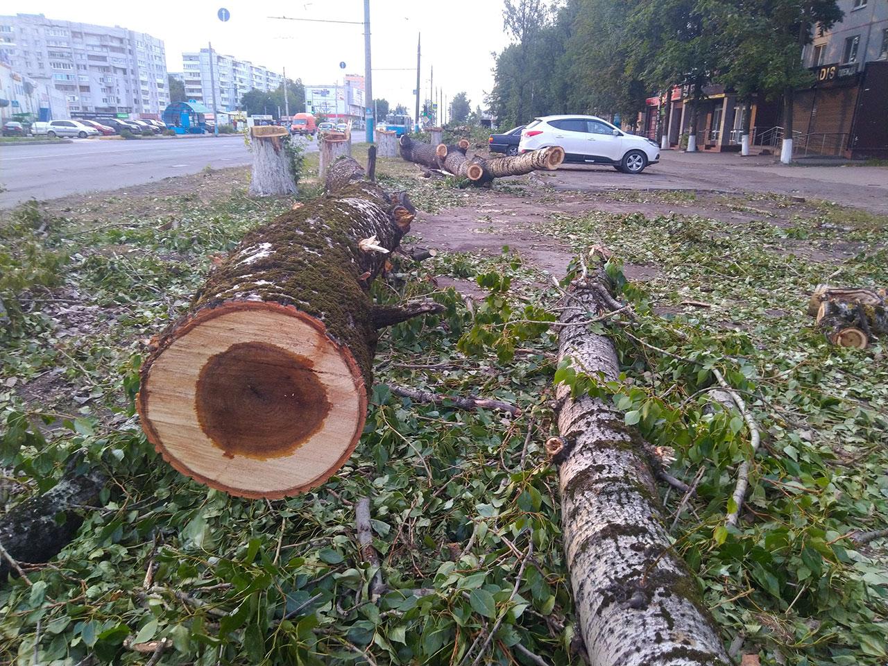 В Брянске продолжают ремонтировать улицу Авиационную
